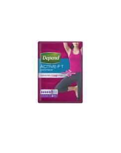 Inkont.kalh.abs.DEPEND Active-Fit L pro ženy 8ks