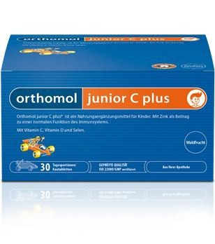 Orthomol junior C plus mandarinka 30 dávek