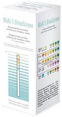 Proužky diagnost. Multi 5 UrineScreen 100ks