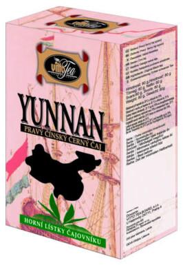 VITTO sypaný YUNNAN černý čaj čínský 80g