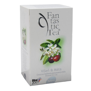 Čaj Fantastic Tea Višeň+Máta n.s.20x2.5g