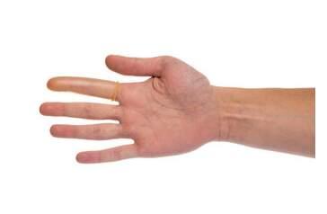 Prst vyšetřovací lékařský č.7 10 kusů