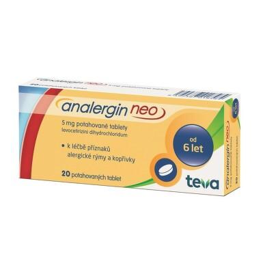 ANALERGIN NEO 5MG potahované tablety 20 II