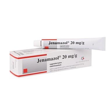 JENAMAZOL 2% vaginální CRM 20GM+APLIK