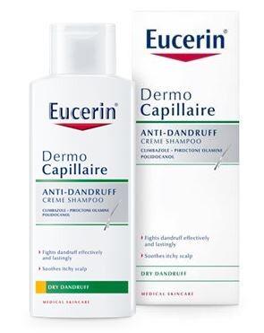EUCERIN DermoCapil. šamp.suché lupy 250ml promo18