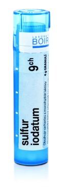 SULFUR IODATUM 9CH granule 4G