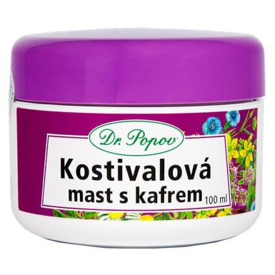 Dr.Popov Kostivalová mast s kafrem 100ml