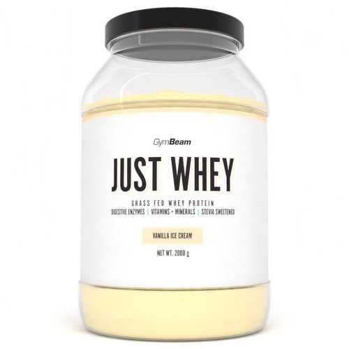 GymBeam Just Whey protein vanilla ice cream 2000g