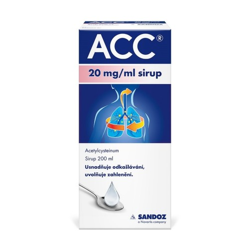 ACC 20MG ML sirup 1X200ML
