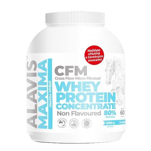 ALAVIS MAXIMA Whey protein co.Syrov.prot.80 percent 2200g