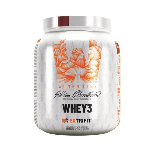 EXTRIFIT Whey 3 1000g Milk chocolate