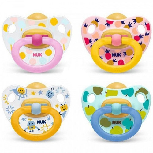 NUK Dudlík Happy Kids LA V1(0-6m) 1ks BOX 726012