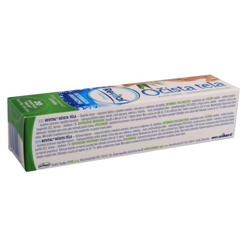 Revital Očista těla tbl.eff. 20 Ale Vera base