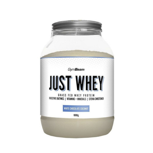 GymBeam Just Whey protein white choco.coconu.1000g