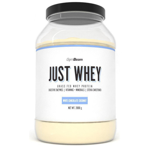 GymBeam Just Whey protein white choco.coconu.2000g