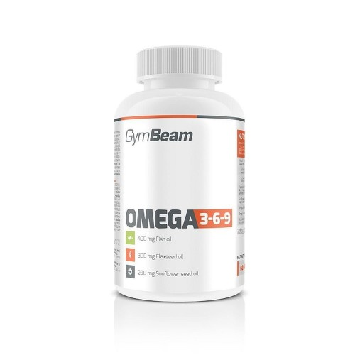GymBeam Omega 3-6-9 cps.120