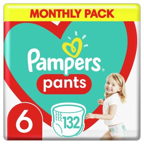 Pampers kalhotkové plenky Monthly Box S6 132ks