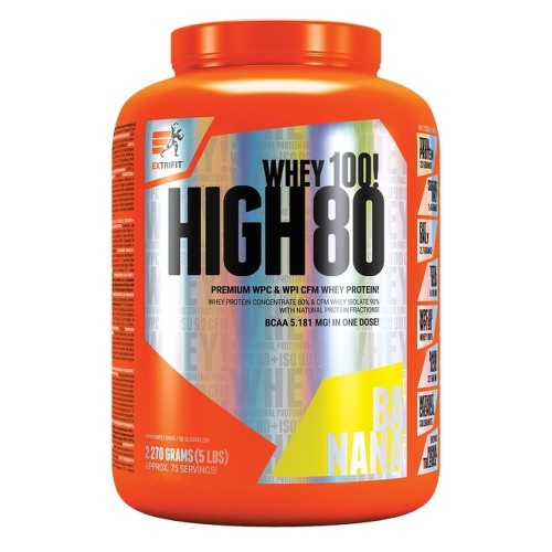 EXTRIFIT High Whey 80 2270g Banana