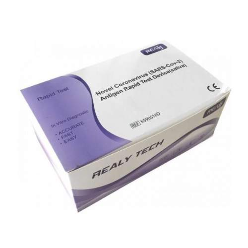 Novel Coronavirus Antigen rapid test (ze slin) 20ks - II. jakost