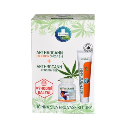 Annabis Arthrocann gel75ml Arthroc.Collagen tbl.60