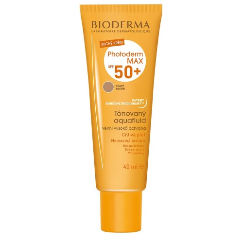 BIODERMA Photoderm MAX Aquafluid tmavý SPF50 40ml