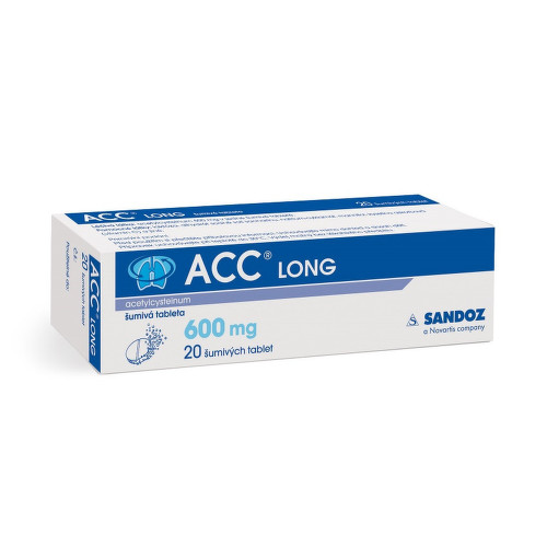 ACC LONG 600MG šumivé tablety 20