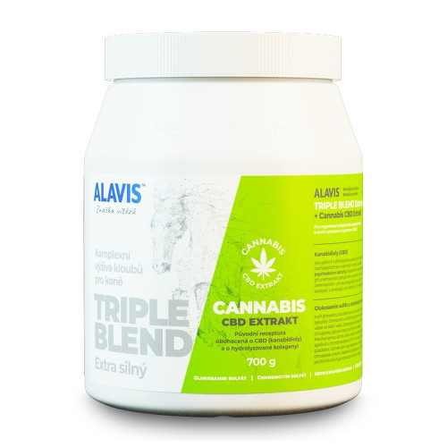 ALAVIS Triple blend Extra silný Cannabis CBD 700g