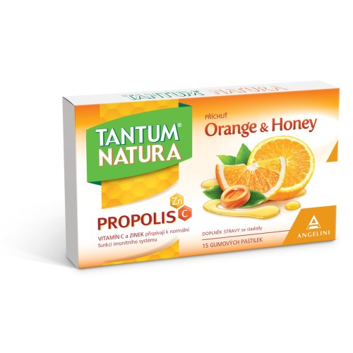 Tantum Natura Orange Honey Zn vit.C past.15