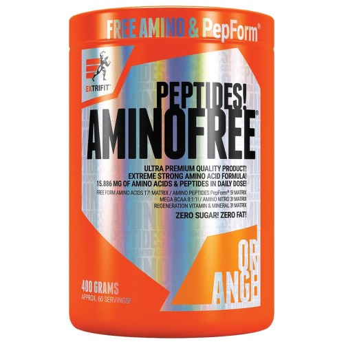 EXTRIFIT Aminofree Peptides 400g Orange