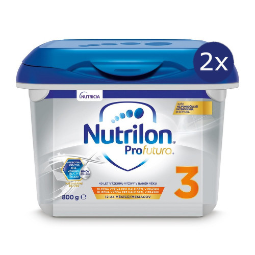 Nutrilon 3 Profutura 800g NOVÝ - balení 2 ks