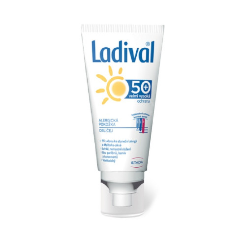 LADIVAL ALERG obličej OF50 gel 50ml
