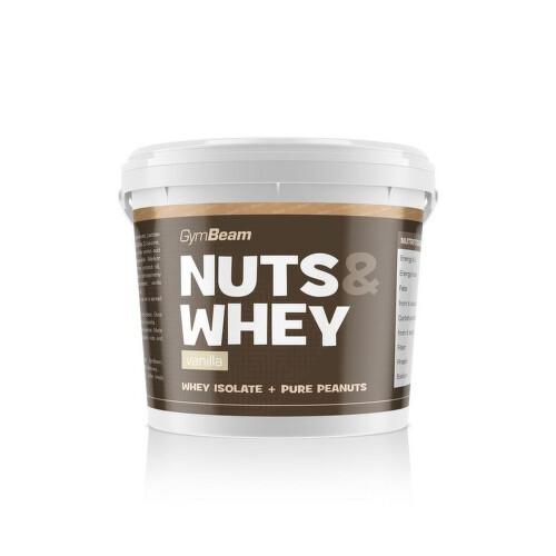 GymBeam Nuts&Whey vanilla 1000g