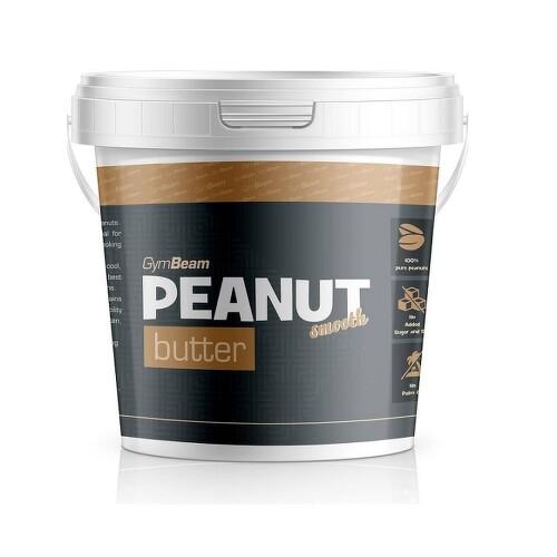 GymBeam Peanut butter smooth 1000g