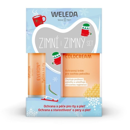 WELEDA SET Zimní (Coldcream  Everon)