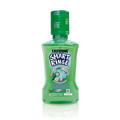 LISTERINE SMART RINSE Mint 250ml