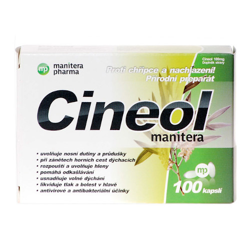 mp cineol 100mg cps.100