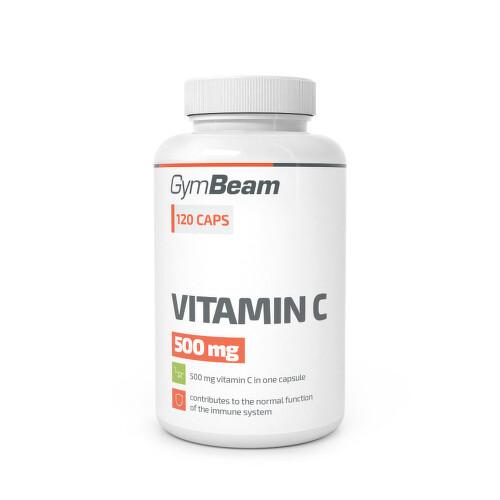 GymBeam Vitamin C 500mg cps.120