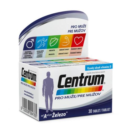 Multivitamin Centrum pro muže 30 tablet - dárek BE907