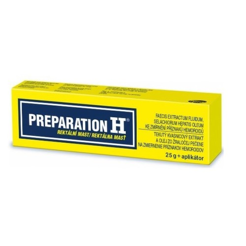PREPARATION H 10MG G 30MG G rektální UNG 25G
