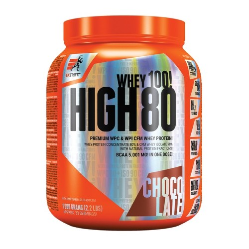 EXTRIFIT High Whey 80 1000g Chocolate