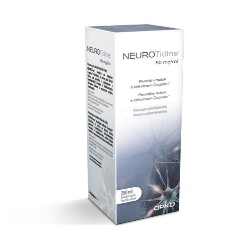 Neurotidine 50 mg ml 250 ml