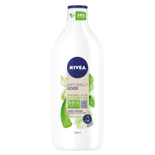 NIVEA Tělové ml. Naturally Good Aloe 350ml