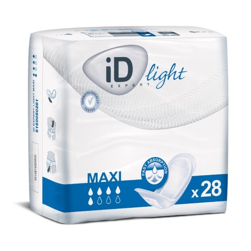 VLOŽKY ABSORPČNÍ ID EXPERT LIGHT MAXI 1000ML,COTTON FEEL,28KS