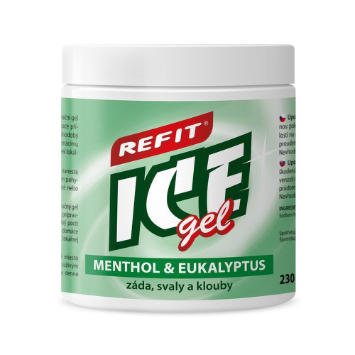 Refit Ice gel Menthol Eukalyptus 230ml