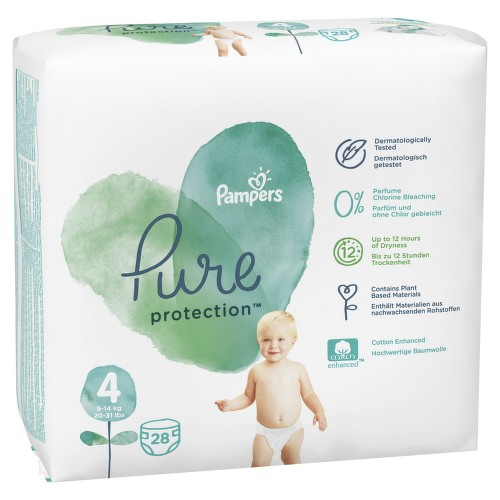 Pampers Pure protection S4 28ks