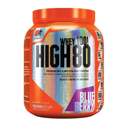 EXTRIFIT High Whey 80 1000g Blueberry