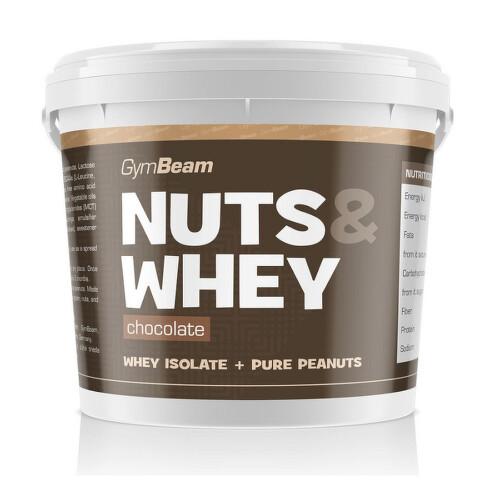 GymBeam Nuts&Whey chocolate 1000g