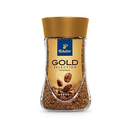 Tchibo Gold Selection 200g instant.káva