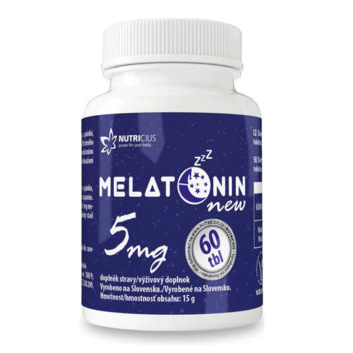 Melatonin 5mg new tbl.60