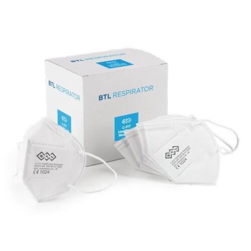 BTL Respirator C-fit Healthcare FFP2 NR 25ks